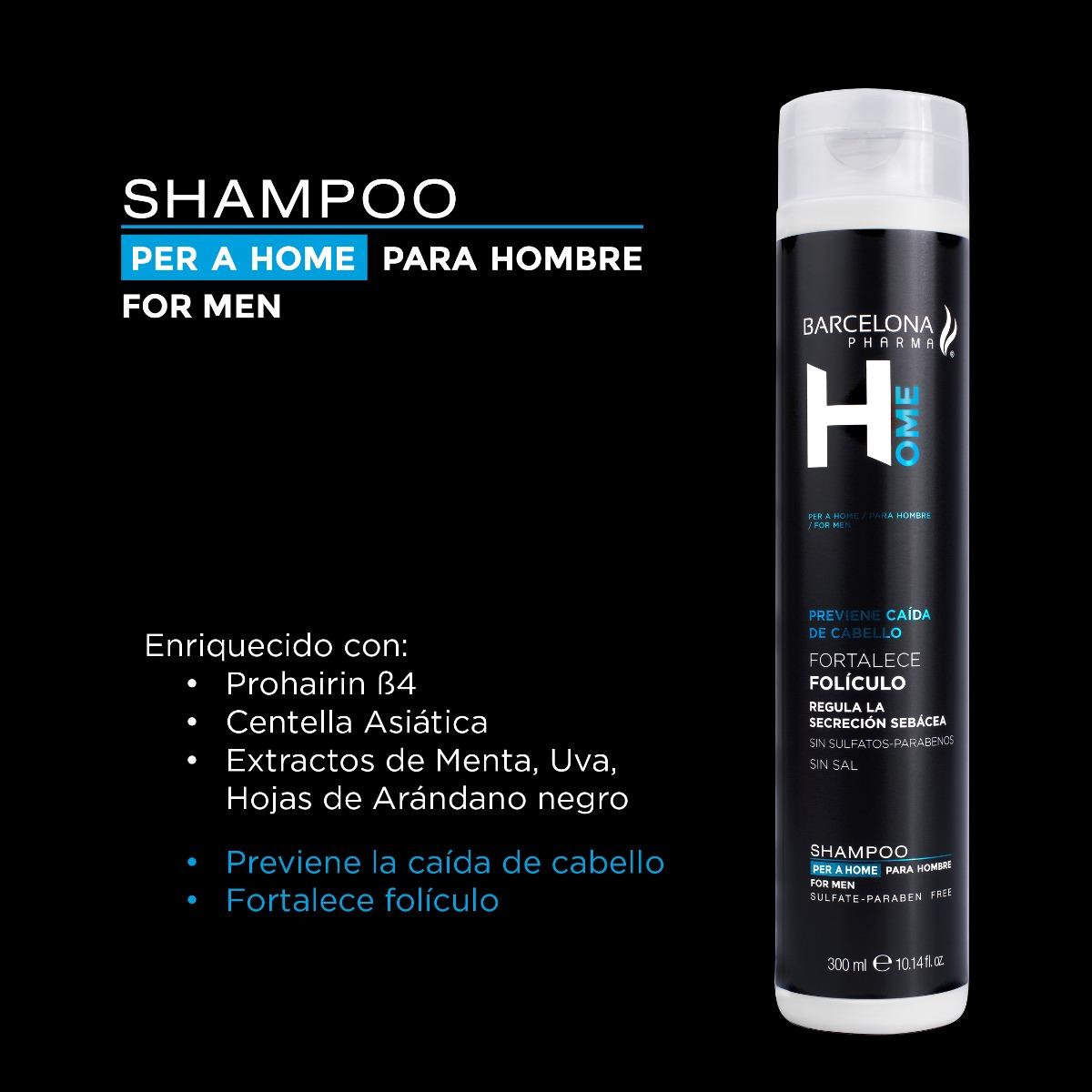 Trio Barcelona H: Gel, Shampoo y Loción