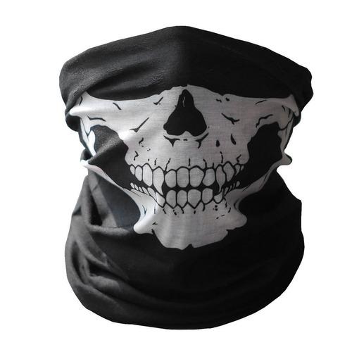 Mascara Bufanda Esqueleto Calavera Pasamontaña Motociclista
