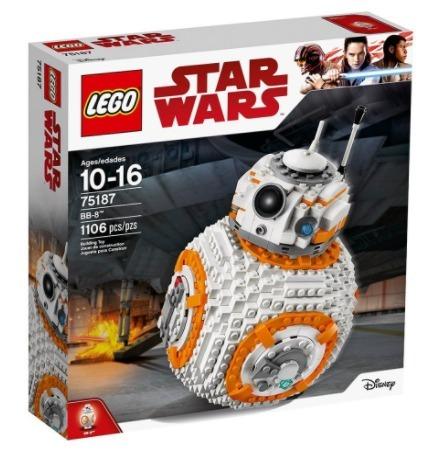 Lego Construcción Star Wars Bb-8 Nuevo + Envio Gratis