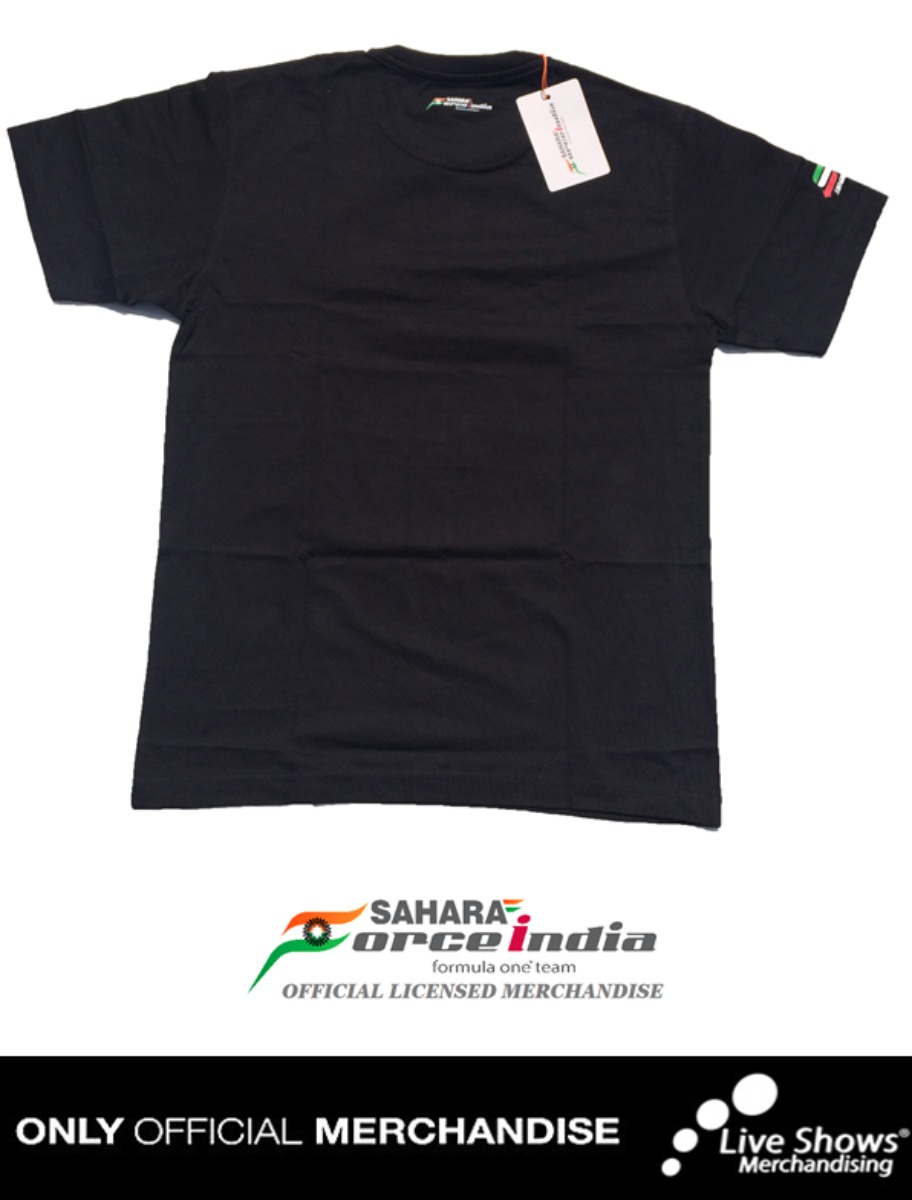 Playera Oficial SAHARA FORCE INDIA CHECO PEREZ
