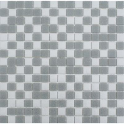 Piso azulejo veneciano albercas combinado gris castel 2x2 for Azulejos precios m2