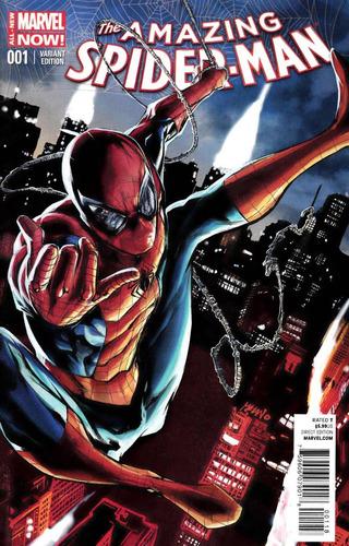 Marvel Comics - The Amazing Spider-man #1 - Mhan Variant Cov