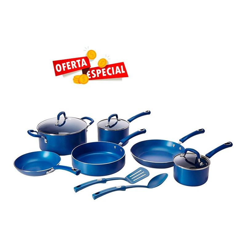 Bateria Style 12 Pzas Azul Tramontina  501605