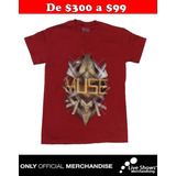 Playera Oficial MUSE Red Tee