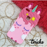 Funda Botarga Diseño Unicornio Pestañas Rosa Huawei P10 Lite
