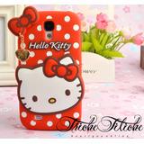 Funda / Botarga  Hello Kitty Conejo para Moto E