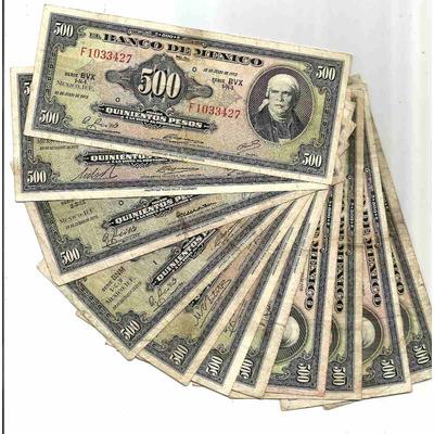 Billete barato 500 pesos envio gratis en - Billetes muy baratos ...