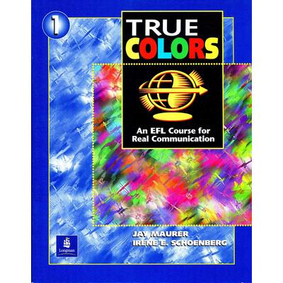 true colors 1 student book jay maurer longman - True Colors Book