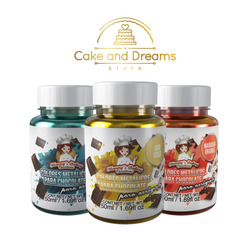 Colores para Chocolate para aer&oacut...