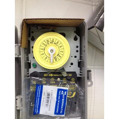 Reloj intermatic t101p automatizacion albercas y spas 110v for Reloj programador piscina precio