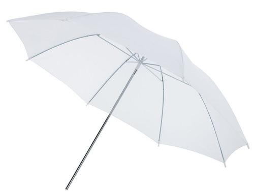 Sombrilla Blanca Traslúcida Para Estudio De Fotografía 83cm