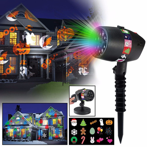 76fa515aba6 Proyector D Luces Led Para Todas Las Celebraciones Del Año en venta ...