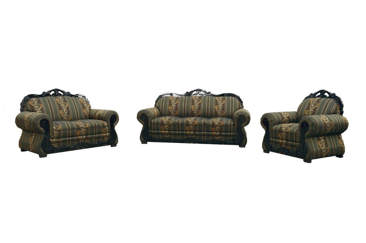 Sala Reyna Fabou Muebles 3 2 1 Clasica Sill N Sofa  # Muebles De Hule Espuma