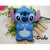 Funda Botarga Stitch Azul para HTC 626
