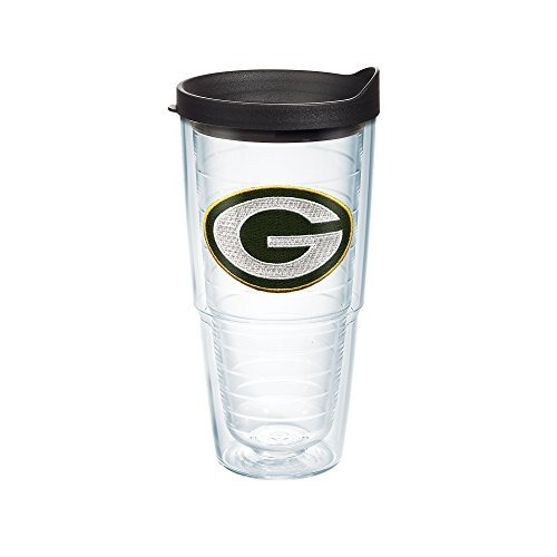 Tervis Nfl Green Bay Packers Chti Vaso Individual Con Negro