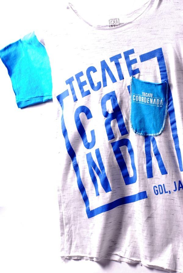 Playera Oficial Coordenada Blue