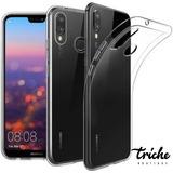 Funda Case TPU Transparente Suave Flexible Huawei P20 Lite