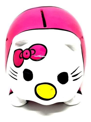 Alcancía Hello Kitty Cerdito Puerquito Barro Ceramica - Ecart