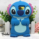 Funda Botarga Stitch Azul Galaxy S8 Triche