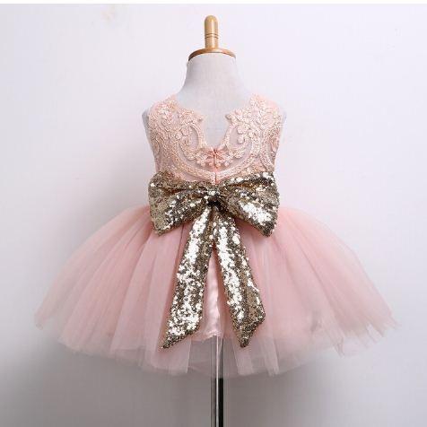 Coral Fiesta Lollipop En Niña Tutú Vestido Elegante Princesa Venta OXwZiuTlkP