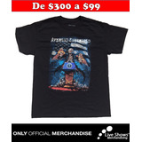 Playera Oficial AVENGED SEVENFOLD Presidente