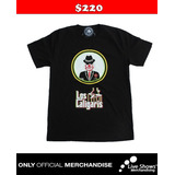Playera Oficial LOS CALIGARIS Black Tee