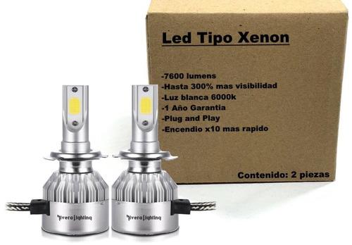 Ek Kit Luces Led Tipo Xenon Hid 9007 A/b Pontiac G5 2008 Foto 4