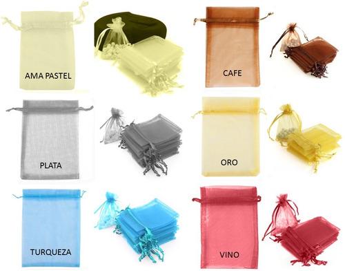 71e5e6001 ... comprar Bolsa De Organza 7.5 X 10 Cm Con 48 Pz Recuerdos Y Ceremoni ...