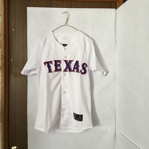 14cb75cb30e9c9 Jersey Camisola Beisbol Mlb Texas Easton Original Oferta en venta en ...