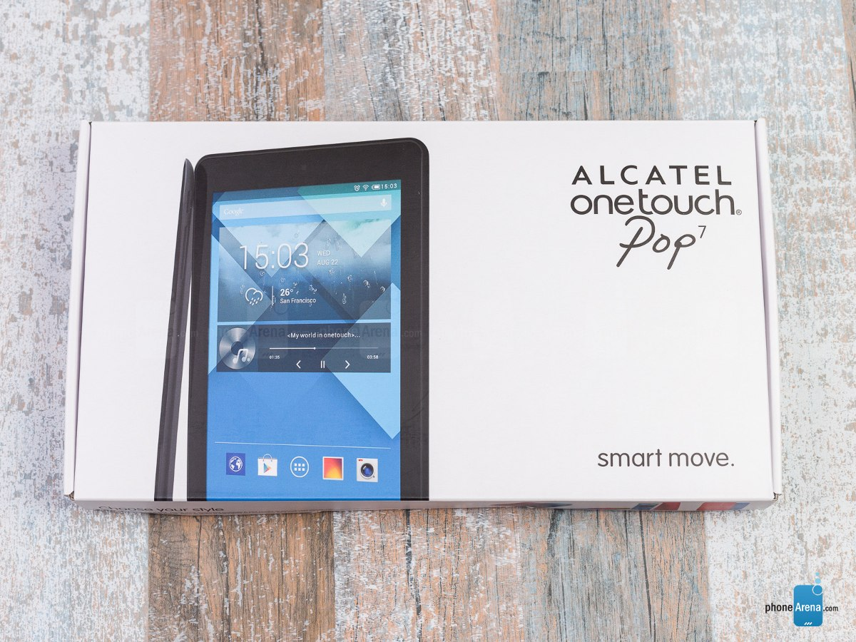 "TABLET ALCATEL ONE TOUCH 7"" HD 8GB 4G LTE DESBLOQUEADO"