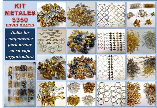 ced6cf88f340 Kit De Componentes Metálicos Para Bisuteria en venta en General ...