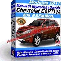 CHEVROLET CAPTIVA 2011 (espanol)