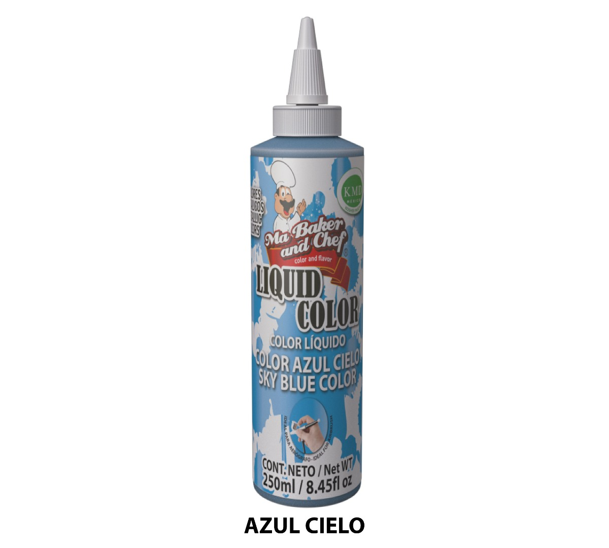 Liquid Color metálico 250 ml - Ma Baker and Chef