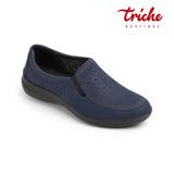 Calzado Zapato Dama Azul Flexi 25903 Piso Descanso Cómodo