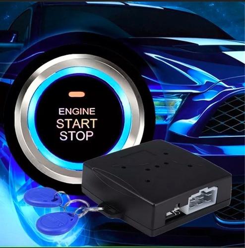 Boton Auto Smart Engine Encendido Arranque Antirobo Rfdi
