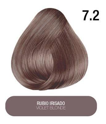 Tinte  + Color + Hidratación Tono  7.2 Rubio Irisado
