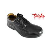 Calzado Caballero Negro Flexi 68901 Casual Confort Agujeta