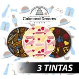Transfer para Chocolate - Día del padre - 3 tintas