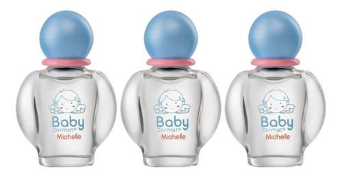 Paquete De 3 Perfumes Baby Michelle En Promoción Zermat
