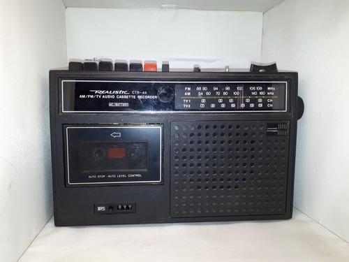 Antiguo Radio Realistic Am Fm Tv1 Tv2 Ctr 44 Kzr