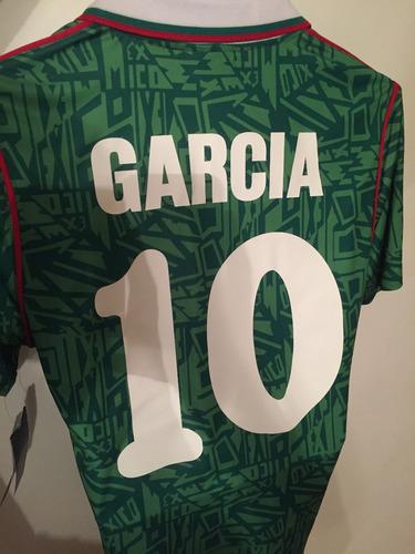 00270ba73 Jersey Retro Mexico 1994 Umbro Hugo Sánchez en venta en El Rosedal ...