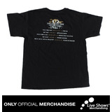 Playera Oficial U2 TOUR BLACK TEE
