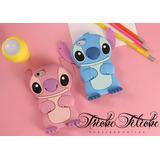 Funda / Botarga Stitch Azul / Rosa Xperia M2