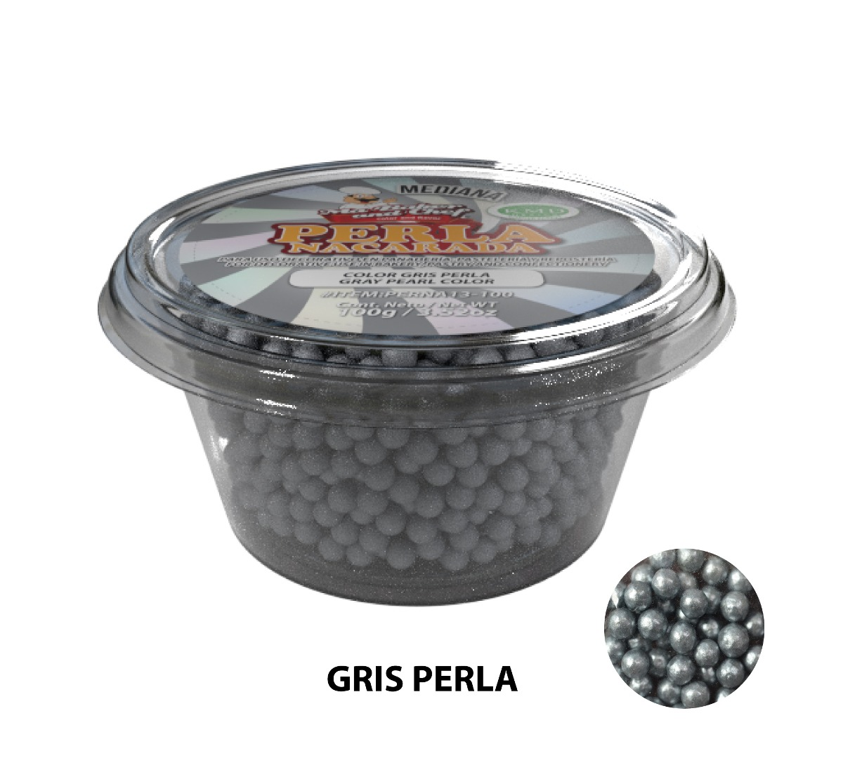 Perlas Nacaradas medianas 100g - Ma Baker and Chef