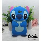 Funda Botarga Diseño Stitch Azul Galaxy A3 2017 A320