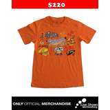 Playera Oficial LOS CALIGARIS Orange Tee