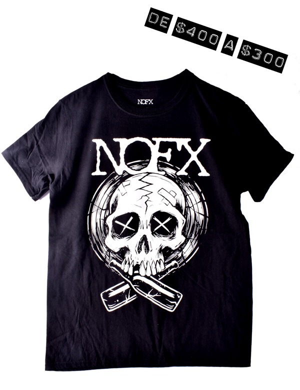 Playera Oficial NOFX Skull