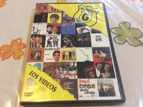 Dvd Hombres G Los Videos 1985-2005