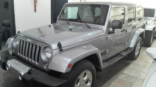 Jeep Wrangler 3.6 Unlimited Sahara V6 4x4 At 2015