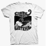 PLAYERA WAVY LOGO WHITE TEE ROGER WATERS